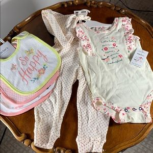 New with tags - baby girl shower gift
